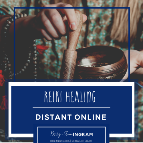 Reiki distant online healing session