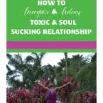 How to Recognize and Release Toxic and Soul Sucking Relationships
