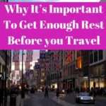 Kerry-Ann Ingram, Why It's Important to get enough sleep before you travel