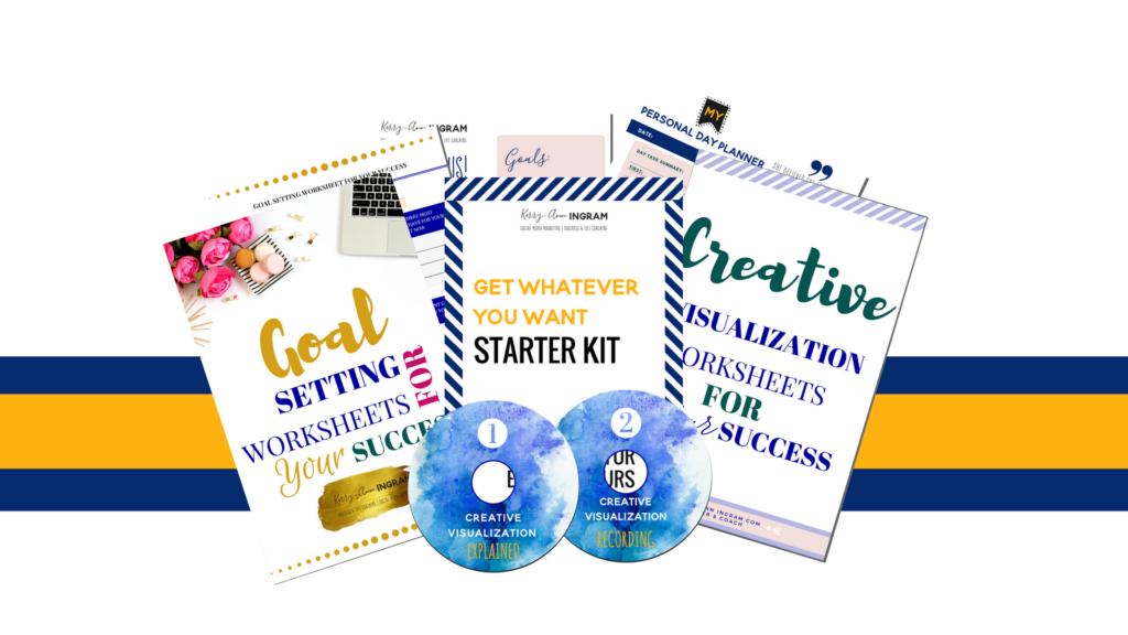 free gift START HERE Promo Starter Kit