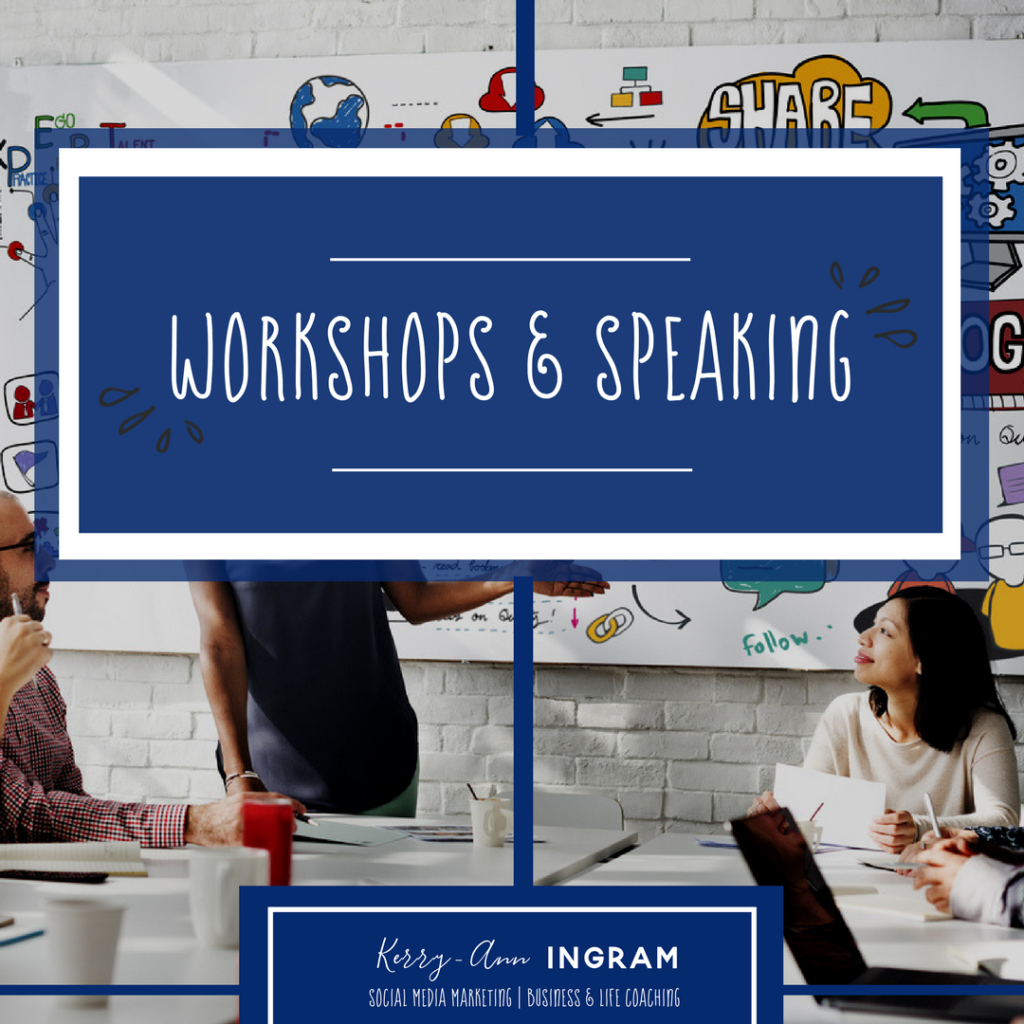 Workshops & Speaking