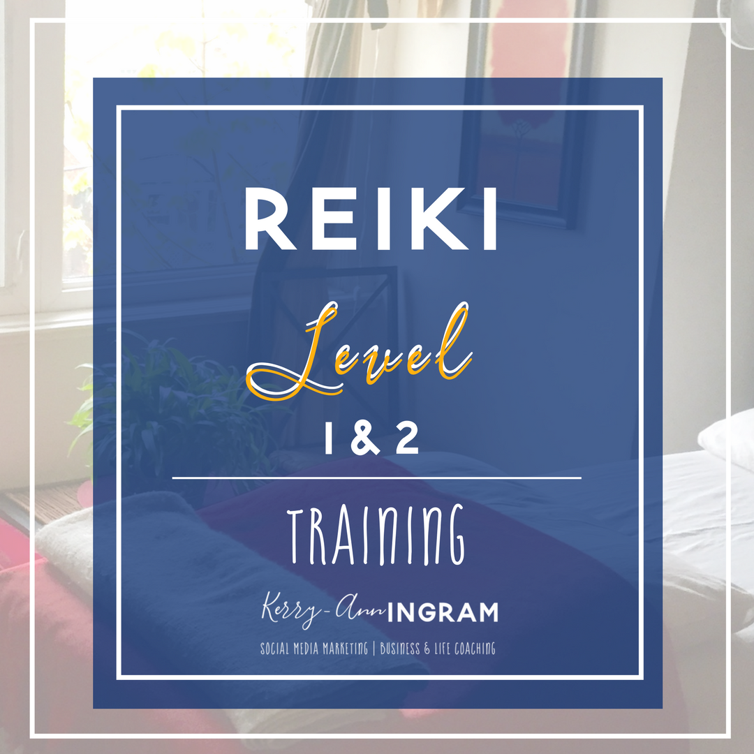 Reiki Level I & II Training Kerry-Ann Ingram