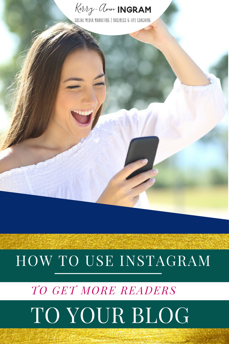 How to Use Instagram to Get More Readers to Your Blog