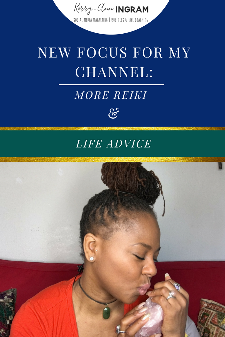 New focus for KaiTV channel-More Reiki & Life Advice