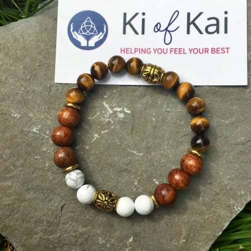 Enlightened Eyes Reiki Healing Bracelet is powerful to heal your stress related issues like, ulcers, heart problems, anxiety, tensions, stress and anger.