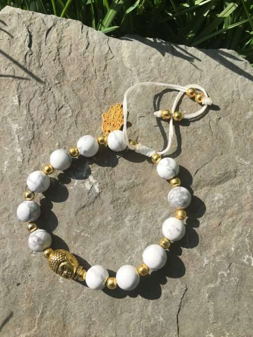 "We can all use a ""Guiding Light"" Reiki infused healing Mala bracelet in our lives. This bracelet will help you achieve a state of calm and help you tap into your ambitions to reach all your goals. It's the perfect accessory to have and add to your collection."