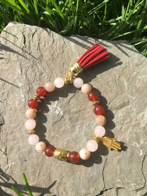 Moon Goddess Protection Reiki healing bracelet, Reiki infused, Chakras, Energy Bracelet, Reiki Charged, Hand Made Jewellery, Gift For Her